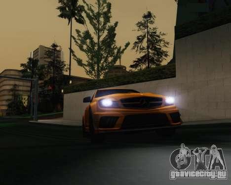 ENB by Robert v8.3 для GTA San Andreas второй скриншот