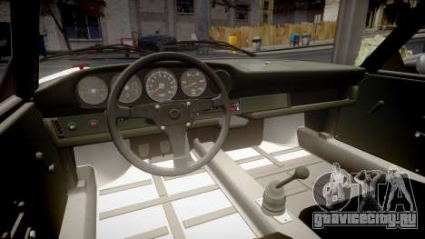 Porsche 911 Carrera RSR 3.0 1974 PJ210 для GTA 4 вид изнутри