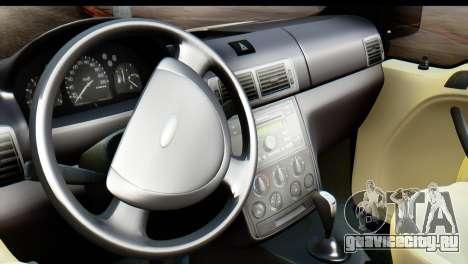 Ford Transit Tourneo Connect Camli Van для GTA San Andreas вид сзади слева