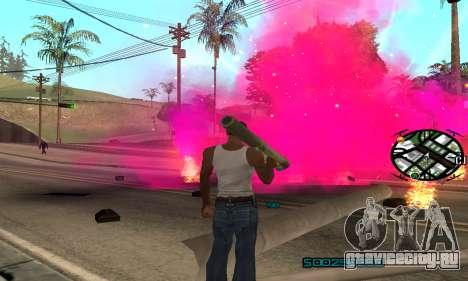 New Pink Effects для GTA San Andreas второй скриншот