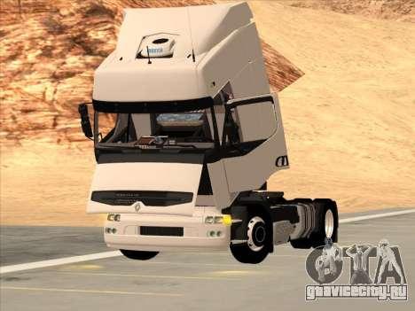 Renault Premium для GTA San Andreas вид снизу