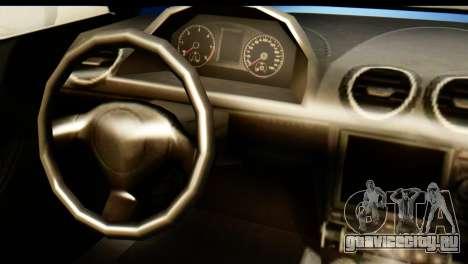 GTA 5 Obey 9F Cabrio для GTA San Andreas вид сзади слева