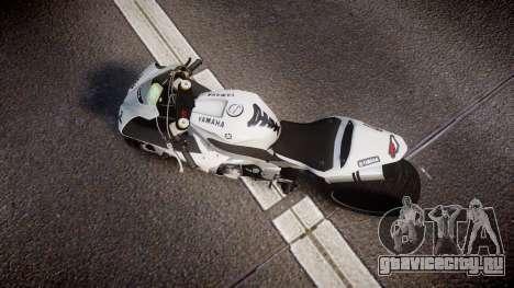 Yamaha YZF-R1 Custom PJ1 для GTA 4 вид справа