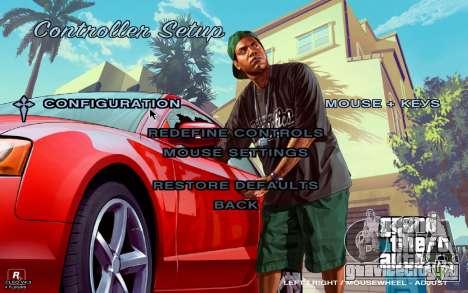 GTA 5 Меню для GTA San Andreas четвёртый скриншот