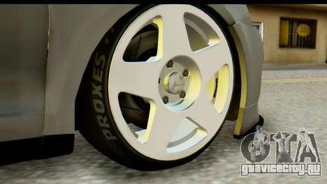 Volkswagen Bora GLI 2010 Tuned для GTA San Andreas вид сзади слева