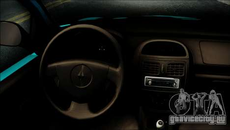 Renault Clio Beta v1 для GTA San Andreas вид справа