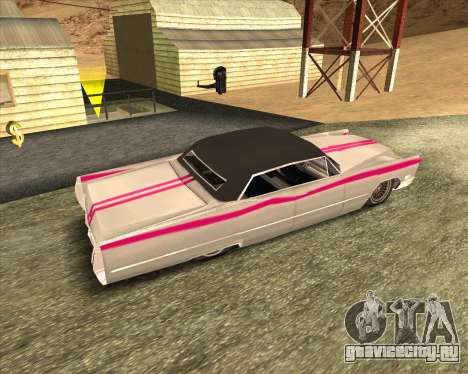 Cadillac DeVille Lowrider 1967 для GTA San Andreas вид справа