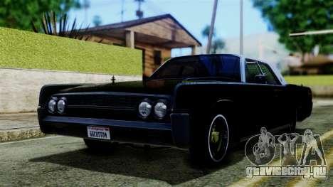 Lincoln Continental для GTA San Andreas