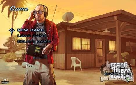 GTA 5 Меню для GTA San Andreas третий скриншот