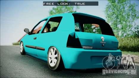 Renault Clio Beta v1 для GTA San Andreas вид слева