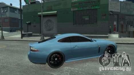 Jaguar XK v.2.0 для GTA 4 вид слева