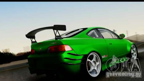 Honda Integra Type R Time Attack IVF для GTA San Andreas вид слева