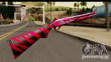 Red Tiger Shotgun для GTA San Andreas второй скриншот