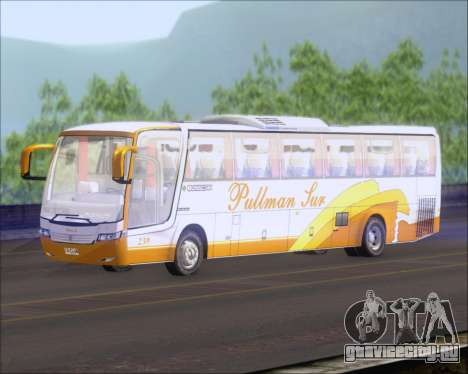 Busscar Vissta Buss LO Pullman Sur для GTA San Andreas вид сзади слева