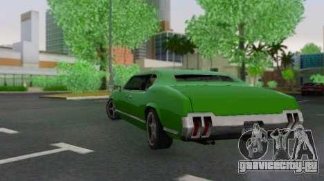 Sabre Limousine для GTA San Andreas вид справа