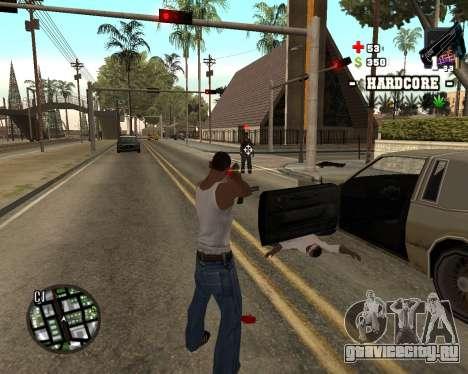 C-HUD Hardcore для GTA San Andreas второй скриншот