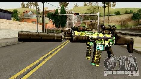 Grafiti M4 для GTA San Andreas