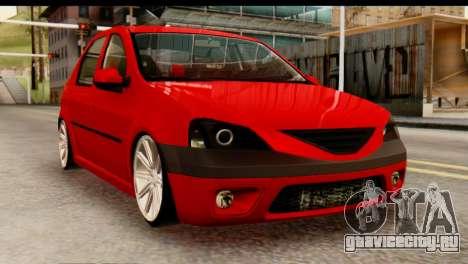 Dacia Logan MXP для GTA San Andreas