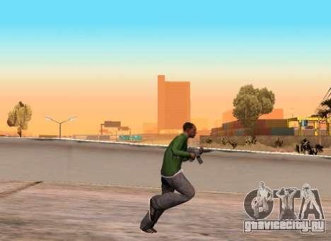 Реалистичные походки для GTA San Andreas второй скриншот