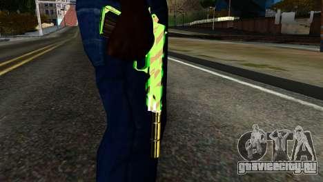 New Silenced Pistol для GTA San Andreas