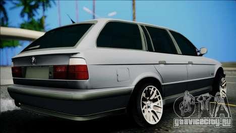 BMW M5 E34 Wagon для GTA San Andreas вид слева