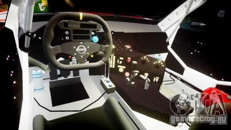 Nissan Skyline R34 2003 JGTC Pennzoil для GTA 4 вид сзади
