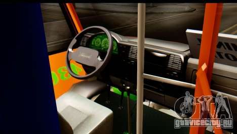 Dodge Ram Microbus для GTA San Andreas вид справа