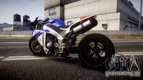 Yamaha YZF-R1 Custom PJ2 для GTA 4 вид слева
