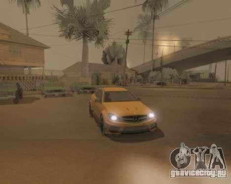 ENB by Robert v8.3 для GTA San Andreas десятый скриншот
