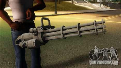 Minigun from GTA 5 для GTA San Andreas третий скриншот