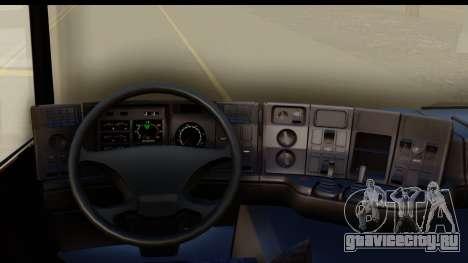 Scania P340 для GTA San Andreas вид изнутри