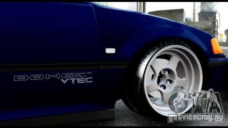 Honda Civic 4gen JDM для GTA San Andreas вид изнутри