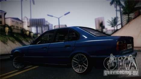BMW M5 E34 Stance для GTA San Andreas вид сзади слева