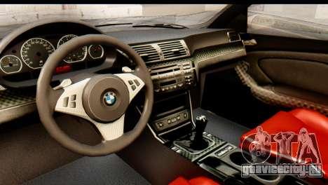 BMW M3 E46 GTR NFS MW для GTA San Andreas