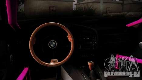 BMW M3 E36 для GTA San Andreas вид сбоку