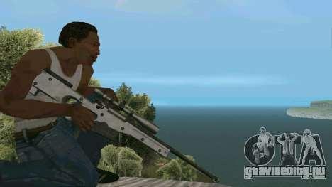 Metal AWP L96А1 для GTA San Andreas третий скриншот