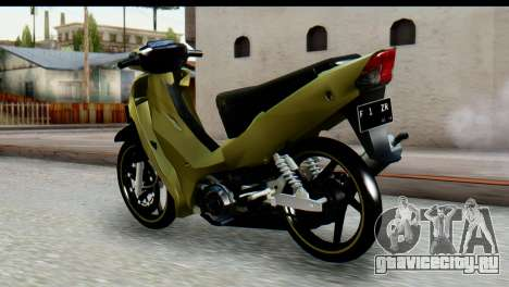 Yamaha F1ZR Stock для GTA San Andreas вид слева