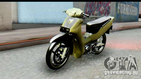 Yamaha F1ZR Stock для GTA San Andreas