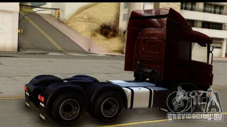 Scania P340 для GTA San Andreas вид слева