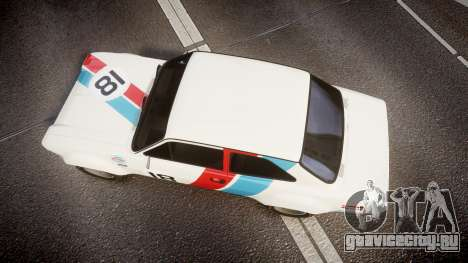 Ford Escort RS1600 PJ18 для GTA 4