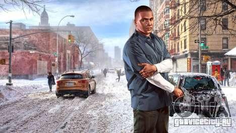 Зимние загрузочные экраны для GTA 4 седьмой скриншот