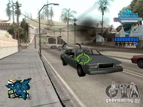 C-HUD Blek-Pro Diamond для GTA San Andreas четвёртый скриншот