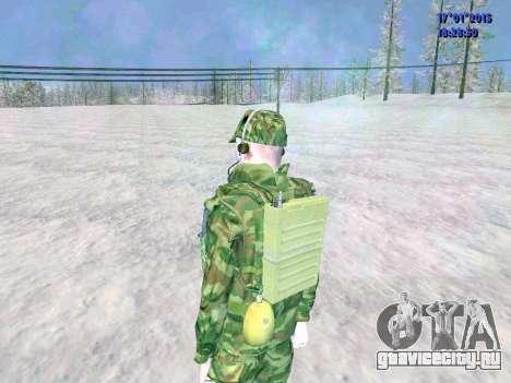 Радист ВДВ для GTA San Andreas пятый скриншот