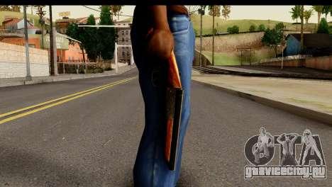 Sawnoff Shotgun HD для GTA San Andreas третий скриншот