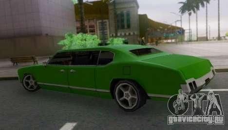 Sabre Limousine для GTA San Andreas вид слева