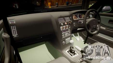 Nissan Skyline BCNR33 JUN VER 1995 v2.0 для GTA 4 вид изнутри