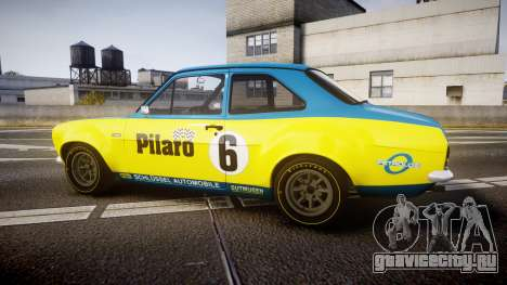 Ford Escort RS1600 PJ6 для GTA 4 вид слева
