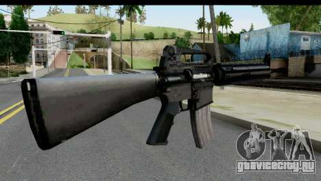 M4A1 from State of Decay для GTA San Andreas второй скриншот