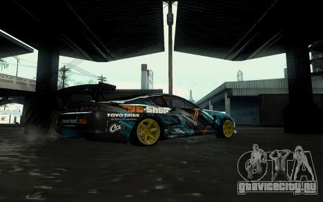 Toyota Supra Gorilla Energy GT-Shop для GTA San Andreas