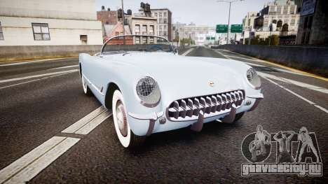 Chevrolet Corvette C1 1953 stock для GTA 4